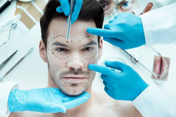 La chirurgie esthétique au masculin